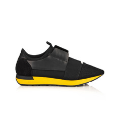 Balenciaga кроссовки Race Runner 'Black & Yeelow'