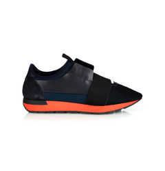 Balenciaga кроссовки Race Runner 'Black & Red'