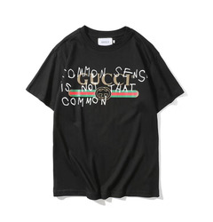 Gucci футболка GUCCI 'Common Sense Is Not That Common' / Black