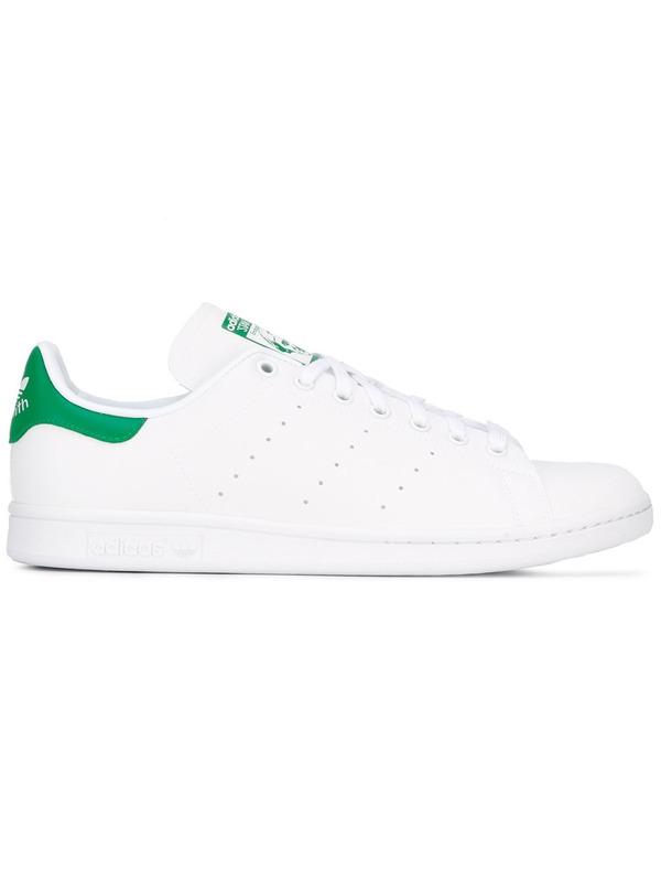 Adidas Originals кеды 'Stan Smith Reflective' с зеленой пяткой