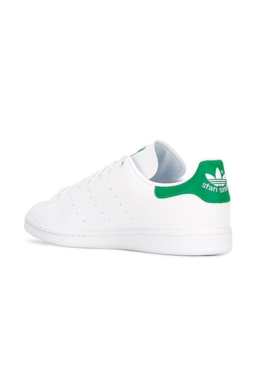 кеды 'Stan Smith Reflective' с зеленой пяткой Adidas Originals, фото