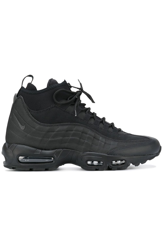 хайтопы кроссовки Nike Air Max 95 Sneakerboot 'Black' Nike, фото