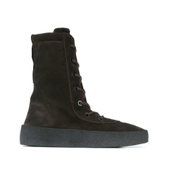 Yeezy ботинки Season 2 Crepe Boot Arriving At Retailers / Black
