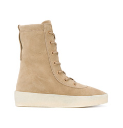Yeezy ботинки Season 2 Crepe Boot Arriving At Retailers / Beige