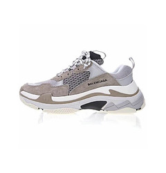 Balenciaga кроссовки Triple S Trainers / Brown Grey
