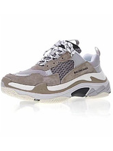 кроссовки Triple S Trainers / Brown Grey