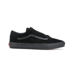 Vans кроссовки 'Old Skool All Black' на шнуровке