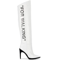 Off-White сапоги 'For Walking' / White