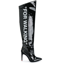 Off-White сапоги 'For Walking' / Black