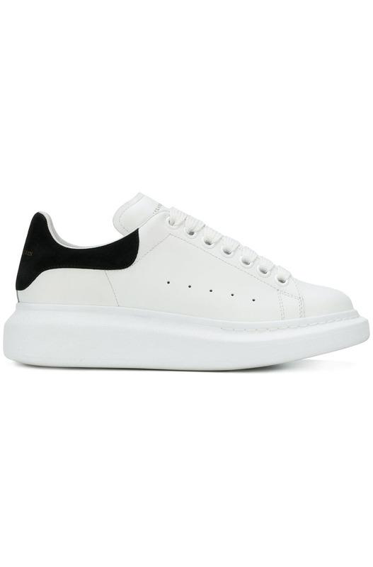 кроссовки на массивной подошве Alexander McQueen, фото