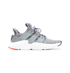 Adidas кроссовки Prophere (Grey Three / Ftwr White / Solar Red)