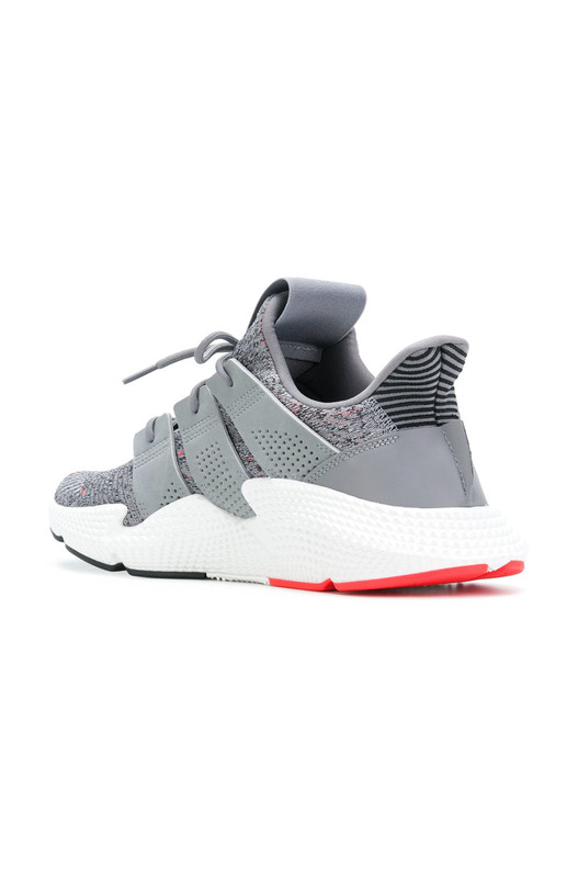 кроссовки Prophere (Grey Three / Ftwr White / Solar Red) Adidas, фото