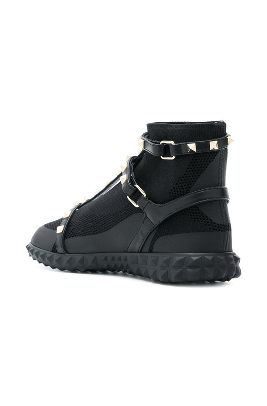 кроссовки 'Rockstud' High Top Valentino, фото