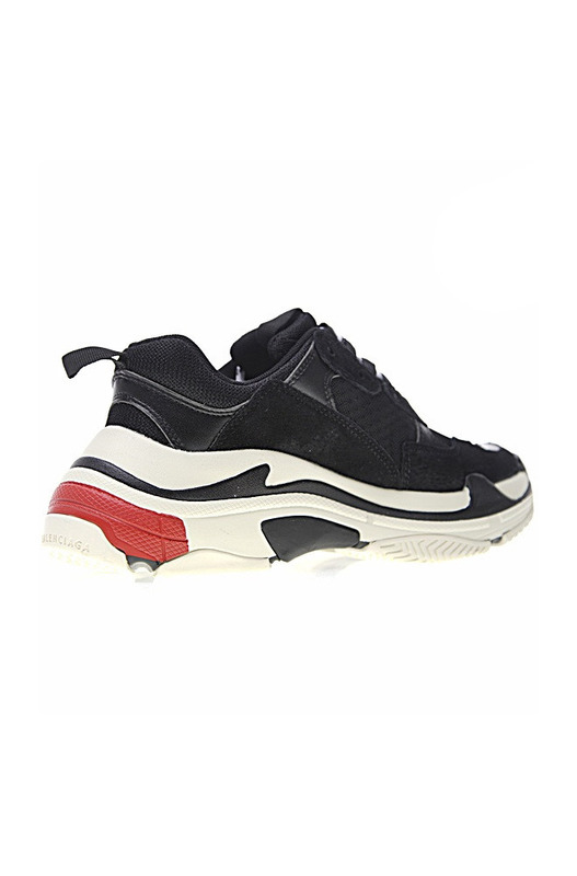 Кроссовки Triple S Trainers / Black White Red Balenciaga, фото