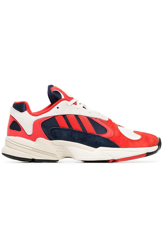 кроссовки Yung 1 Red White Adidas, фото