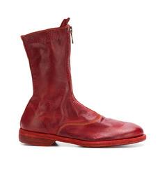 ботинки на молнии спереди