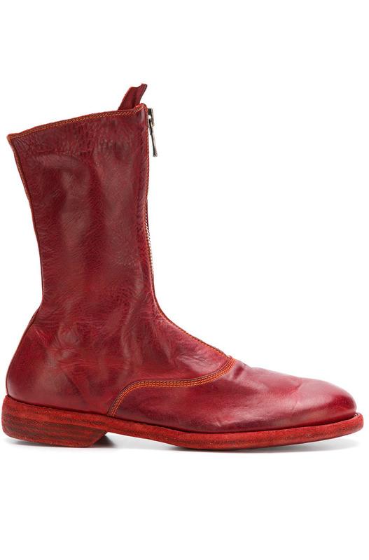 ботинки на молнии спереди Guidi, фото