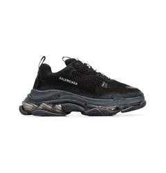 Balenciaga кроссовки Triple S 'Clear Sole Black'