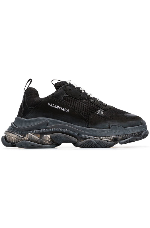 кроссовки Triple S 'Clear Sole Black' Balenciaga, фото