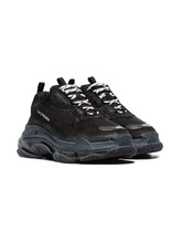 Balenciaga кроссовки Triple S 'Clear Sole Black'