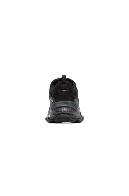 кроссовки Triple S 'Clear Sole Black' Balenciaga, фото