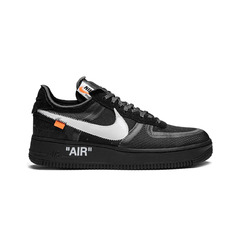 "Nike кроссовки Off-White x Nike Air Force 1 ""Black"""