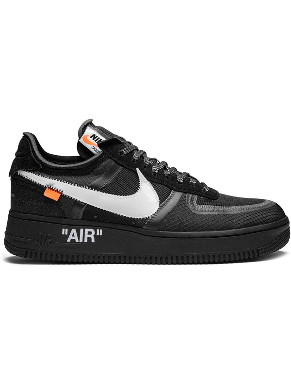 кроссовки Off-White x Nike Air Force 1 Black