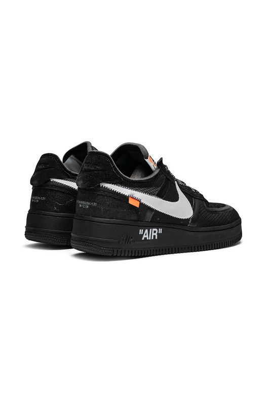 кроссовки Off-White x Nike Air Force 1 Black Nike, фото
