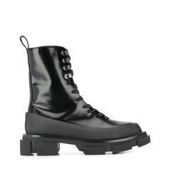 Both ботинки на тракторной подошве со шнуровкой