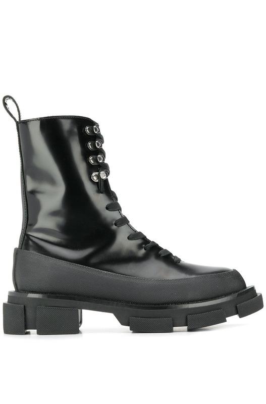 ботинки на тракторной подошве со шнуровкой Both, фото