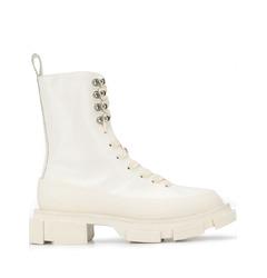 Both ботинки на ребристой подошве со шнуровкой