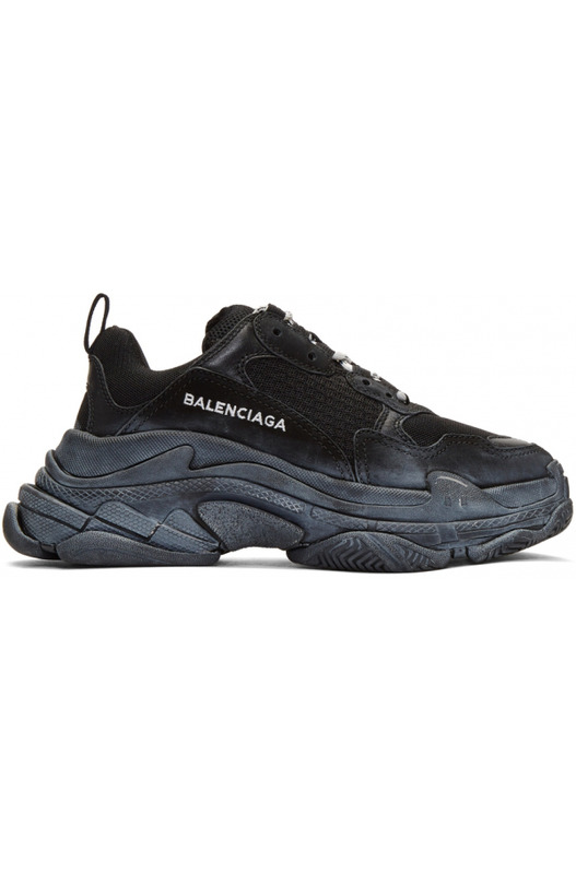 кроссовки Triple S Low-top / Black Balenciaga, фото