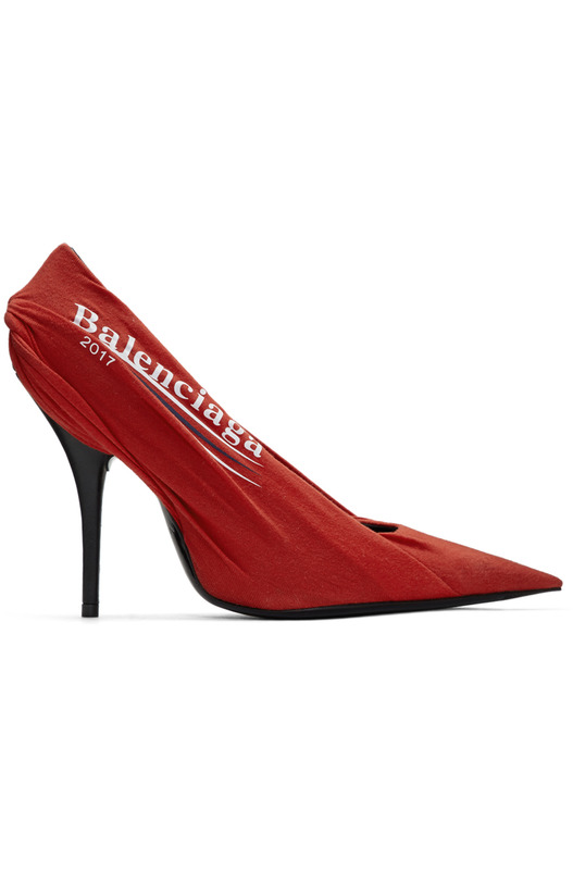 туфли Red Campaign Logo Knife Heels