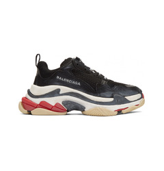 Balenciaga кроссовки Triple S sneakers Trainers Black White Red