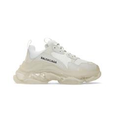 Balenciaga кроссовки с прозрачной подошвой 'Triple S'