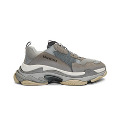 Balenciaga кроссовки Triple S sneakers Trainers Grey