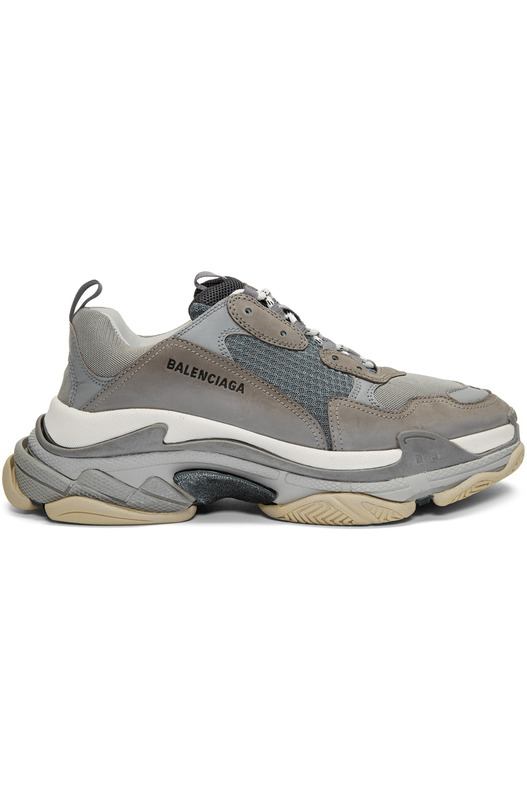 кроссовки Triple S sneakers Trainers Grey