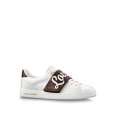 Louis Vuitton кеды 'Frontrow' white/brown