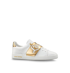 Louis Vuitton кеды 'Frontrow' white/gold