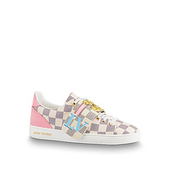 Louis Vuitton кеды 'Frontrow' white/rose