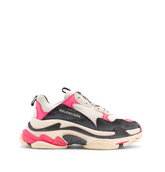 Balenciaga кроссовки Triple S low-top trainers 'Pink'