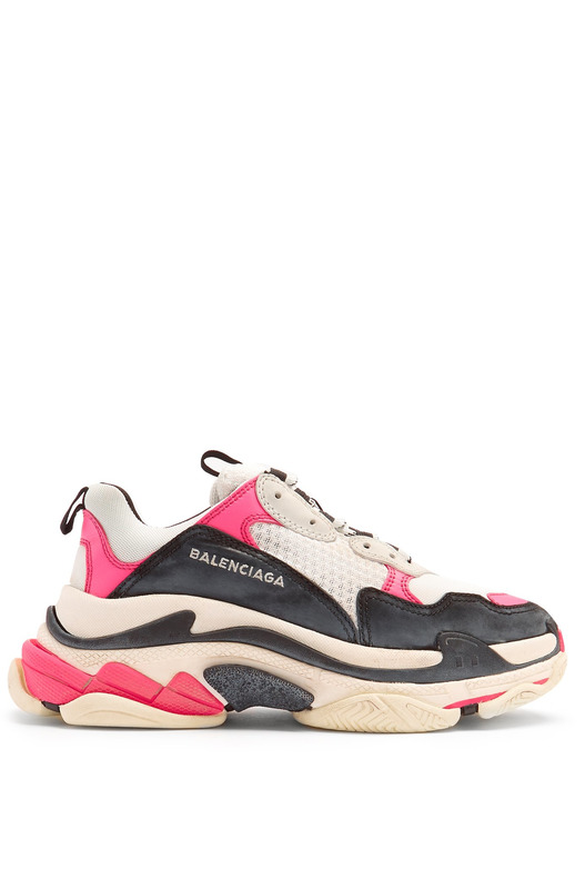 кроссовки Triple S low-top trainers 'Pink' Balenciaga, фото