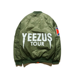 Yeezy бомбер Yeezus Tour / Green