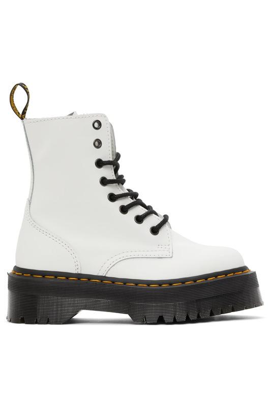 Белые ботинки Zip Jadon Retro Quad Dr. Martens, фото