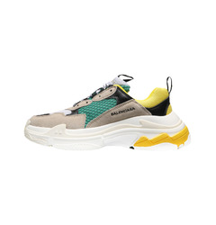 кроссовки Triple S sneakers Trainers Yellow Green Multi