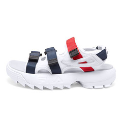 FILA сандалии Disruptor SD White/Navy/Red