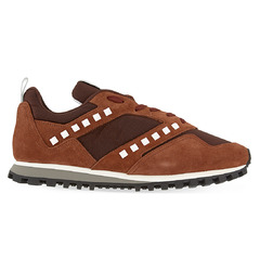 Valentino кроссовки Vintage Rock Stud Runner / Brown