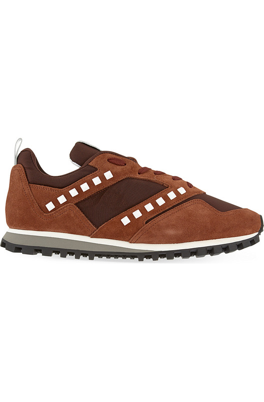 кроссовки Vintage Rock Stud Runner / Brown Valentino, фото
