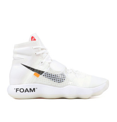 Nike хайтопы Off-White X Nike React Hyperdunk