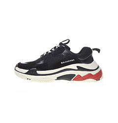 кроссовки Triple S Trainers / Black White Red